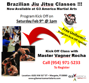 Brazilian Jiu Jitsu at G3 America Martial Arts