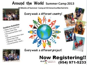 Around the World Summer Camp 2013