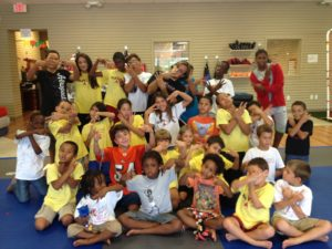 martial arts fun day camp
