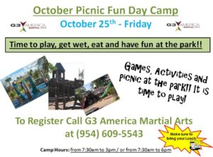 martial arts fun day camp