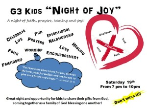 g3 kids night of joy