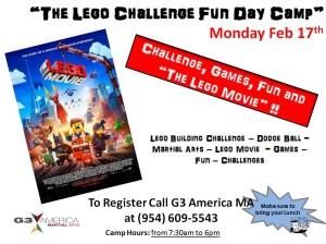 fun day camp lego challenge