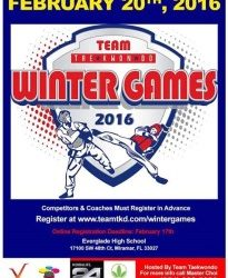 Winter Games Taekwondo 2016 – Taekwondo Olympic Margate