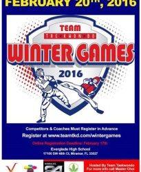 Winter Games Taekwondo 2016 – Taekwondo Olympic Margate