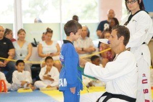 Taekwondo Belt Graduation Tigers