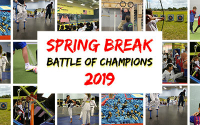 "Spring Break Camp 2019 – ""Battle Of Champions"""