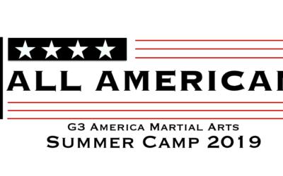"Kids Summer Camp 2019 ""ALL AMERICAN"""